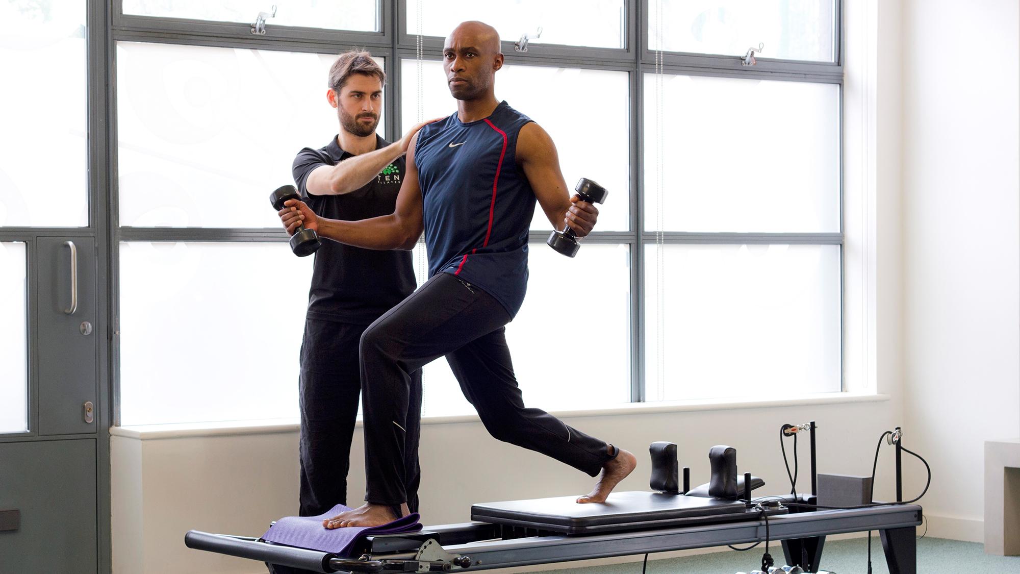 Pilates para homem